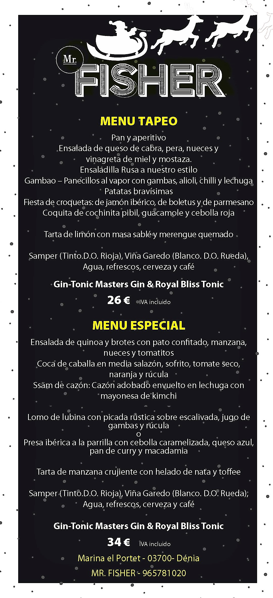 grupos menu fisher 2018